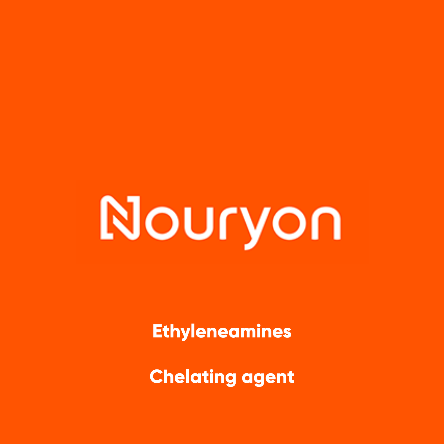 Nouryon Ethyleamines, Chelating agent